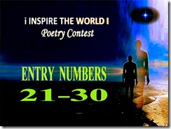21 to 30 entry of poems